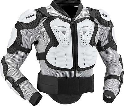 Fox MX TITAN Mens Motocross Armour WHITE Offroad Enduro Roost Pressure Suit