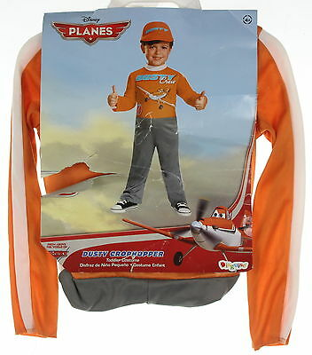 New DISGUISE  Planes Dusty Crophopper Halloween Costume Size 4+