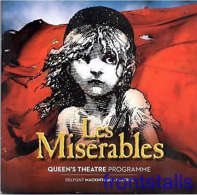 LES MISERABLES - 2016 - QUEEN'S THEATRE - No. 90 - PETER LOCKYER - JEREMY SECOMB