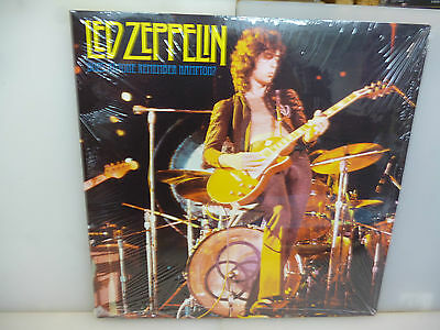 Led Zeppelin-Does Anyone Remember Hampton?. Usa 1971-Red Vinyl Lp-New. Sealed.