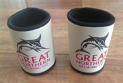 2x GREAT NORTHERN BREWING COMPANY STUBBY HOLDERS NEW