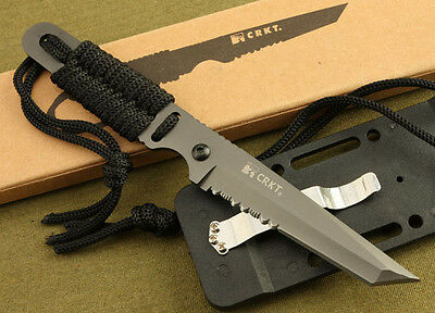 Fixed Blade Fishing Camping Survival Military Tactical Hunting Straight Knife
