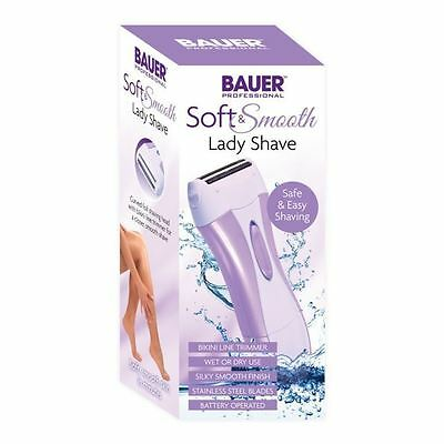 Wet & Dry Battery Operated Ladies Shaver Silky Smooth Lady Shaver Hair Removal