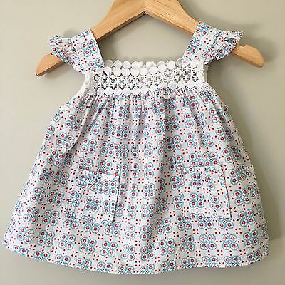 Country Road Baby Girl Summer Cotton Cami Top Size 1 12-18 Months ~ Near New