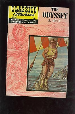Classics Illustrated #81 HRN169 - The Odyssey - Large Scans