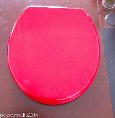 New Red High-end Wood Bathroom Accessories Environmental Toilet Cover