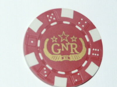 Guns N Roses Gn'R Promotional Poker Chip 2008 Chinese Democracy album