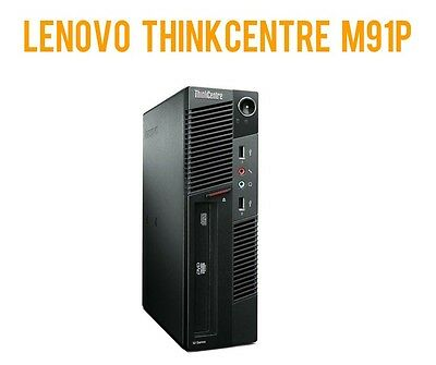 DESKTOP Lenovo ThinkCentre M91p - 4x 2.50GHz - 8GB RAM - 500 GB HDD - WINDOWS 10