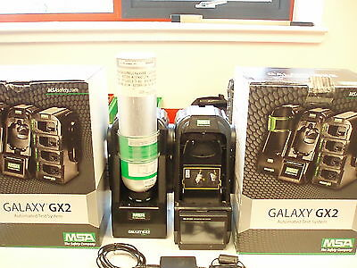 Galaxy GX2 Automated test system with 2x Altair 5x Gas Detectors