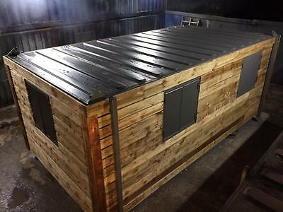 20ft x 8ft Fully clad, fully insulated portable office