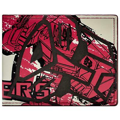New Official Cool Transformers Drawn Style Bi-Fold Wallet