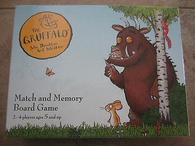 Gruffalo Match & Memory Board Game