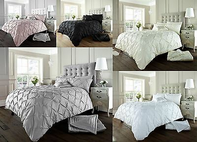 Luxurious ALFORD  Bedding Set All Sizes quilt cover & pillow cases