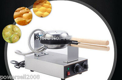 New Non-Stick Cooking Surface Eggs Machine Electric Egg Waffle Maker