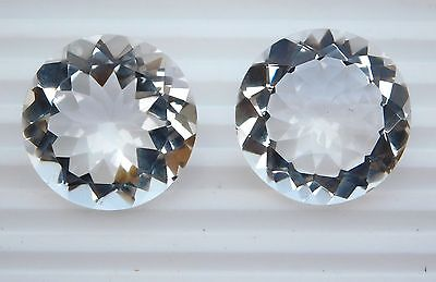 34.00 Ct 1 Pieces Natural Crystal Loose Gemstone Round Cut 23 X 23 X 12 MM V-576