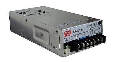 Mean Well SP-200-24 RC 24V DC 200W 8.4A Variable Output Power Supply PSU