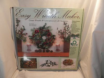 """Vtg Happy Products NIB All Occasion Easy Wreath Maker Kit D 16 1/2"""""""