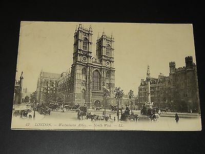 Cpa - Royaume-Uni - London - Westminster Abbey - North West - 1911