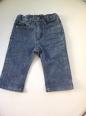 Bonpoint Baby Jeans Size 6M