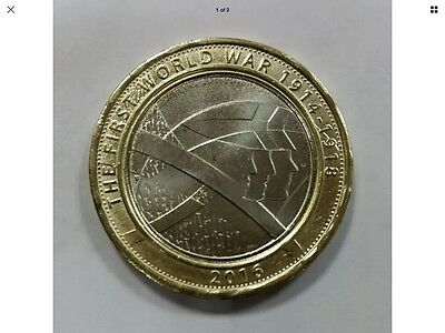 2016 ROYAL MINT TWO POUND COIN £2 - First World War Centenary WW1 ARMY