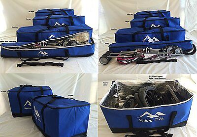 Large-Travel Bags for All Convertible, High Back Booster Car Seats, Collapsible