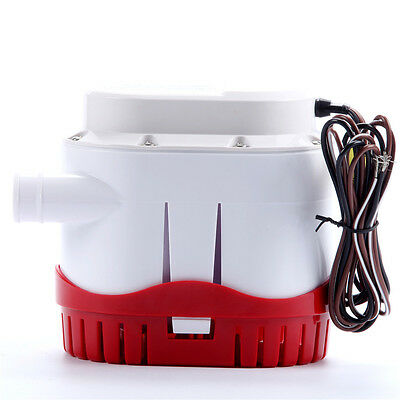 Automatic Submersible Boat Bilge Water Pump 12v 2000gph Built-in Float Switch-AM