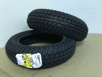 vespa gt gts gtv michelin city grip winter front rear pair set tyre tyres tire
