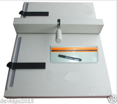 A3 paper folding machine creasing 460mm Manual paper marking press