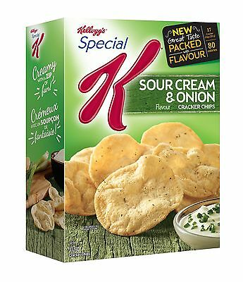 Kellogg's Special K Cracker Chips Sour Cream and Onion 113 Gram