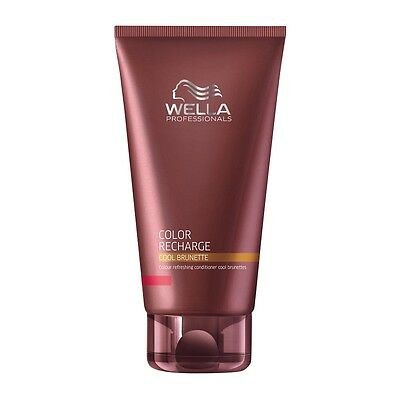 Wella Color Recharge Cool Brunette Colour Refreshing Conditioner Brunettes 200ml