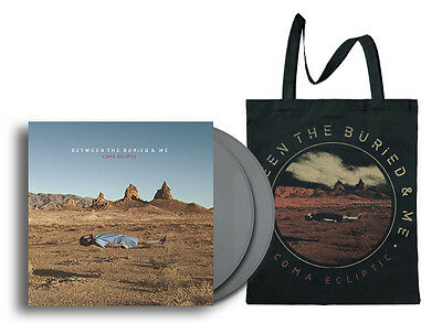 BETWEEN THE BURIED AND ME Coma Ecliptic SILVER Vinyl DLP *TOUR EDITION + BAG!