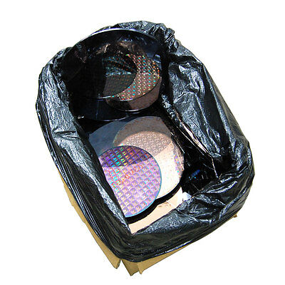 7 Pounds of Silicon Scrap Wafer Discs for Gold or Silicon Recovery