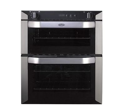 BELLING BI70F Electric Built-under Double Oven - Stainless Steel #1341801