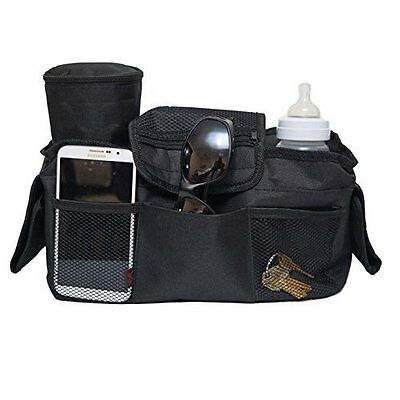 Yup Insulated Cooler Material Stroller Organizer, Fits Most Strollers