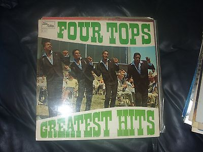 The Four Tops Greatest Hits Lp Stml 11061 Ex+ Top Con A1/b2 1967 Find Better?