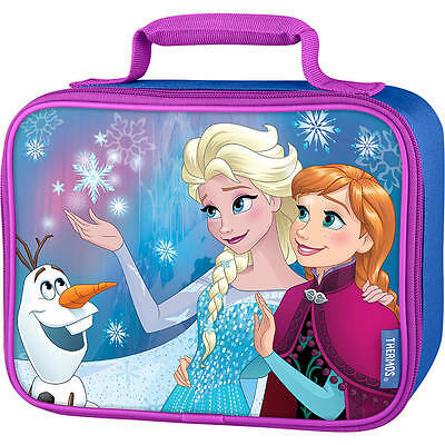 Thermos Disney Frozen Soft Standard Lunch Box New With Tag