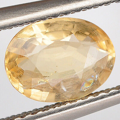 1.05 Ct. Natural Earth Mined Gem Stone Oval Golden Yellow Citrine