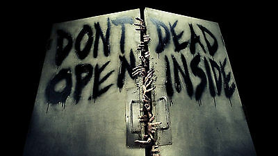 Poster 42x24 cm The Walking Dead Zombies 01
