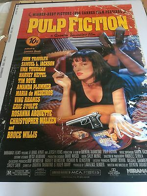 Pulp Fiction Original Movie Poster - Genuine - Great Condition!!!