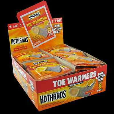 40 Pairs Heatmax HotHands Air-Activated Toe Warmers w/ Adhesive - Up to 8 Hours