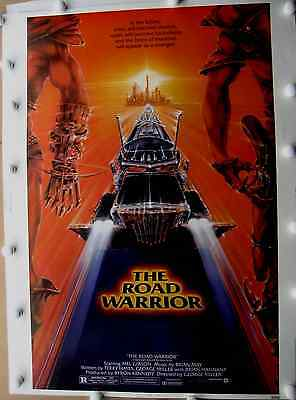 """road Warrior"" Original Theatre Only Poster Heavy Stock 30X40 (1982)"