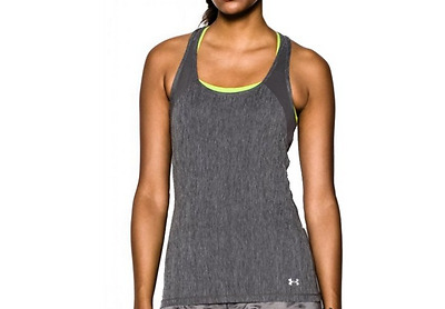 Under Armour Tee Shirt Femme Heatgear Alpha Tank Top Debardeur Fitness Running