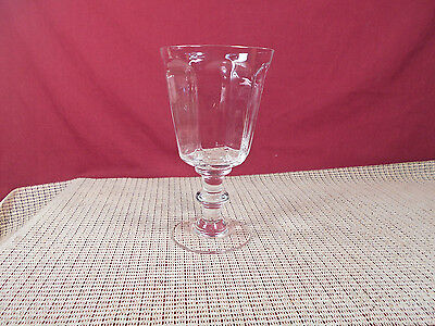 """Lenox Crystal Antique Clear Pattern Water Goblet 6 3/4"""""""