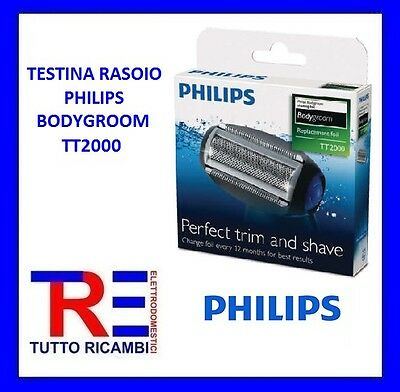 Testina Rasoio Philips Bodygroom Tt2000