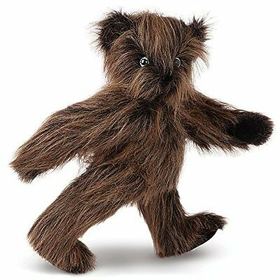 Vermont Teddy Bear - Long Hair Bear with Blue Eyes, 15 inches, Brown - Made in