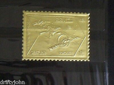 46 Mint Arabian Gold-Alloy Postage Stamps ( Commemorative Collection ) - NICE !
