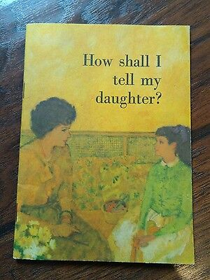 Modess meds tampon advertising 1966 1967 how shall I tell my daughter