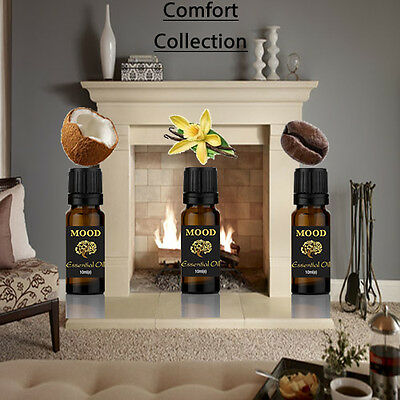 Fragrance Oils Set 10ml Comforting Fragrance Set Vanilla Coconut Coffee Mixed