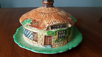 Lovely Art Deco BESWICK Cottage Ware Covered Pot