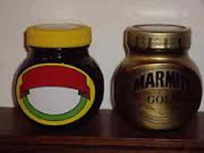 2 FULL SEALED JARS Marmite Limited Edition NO NOISE & GOLD 250g gift collectable
